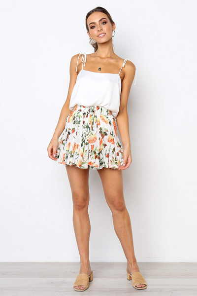 Daryl Floral Mini Skirt