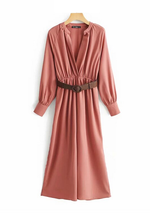 Load image into Gallery viewer, Dayna Belted Jumpsuit