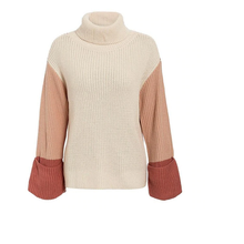 Load image into Gallery viewer, Dierdre Colorblock Turtleneck Sweater