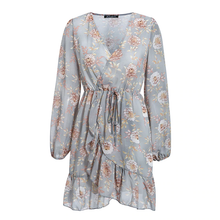 Load image into Gallery viewer, Dustin Floral Wrap Dress