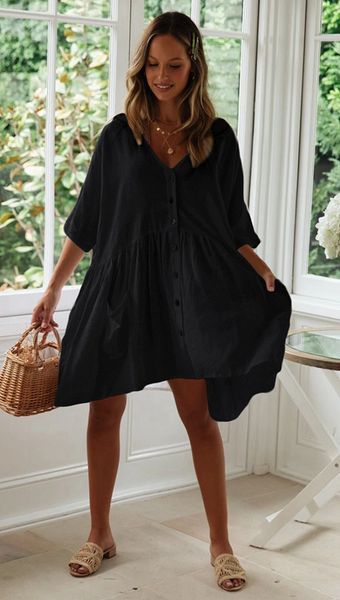 Dylan Beach Shirt Dress
