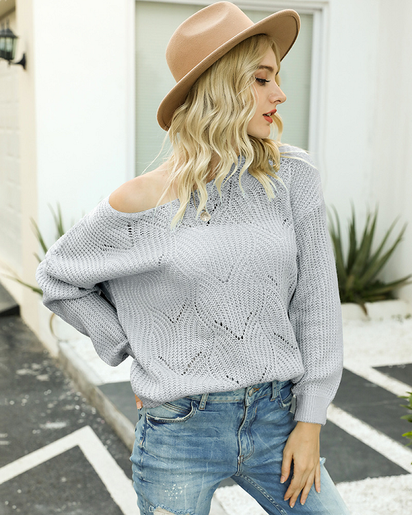 Eloise Crew Neck Knit Sweater