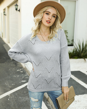 Load image into Gallery viewer, Eloise Crew Neck Knit Sweater