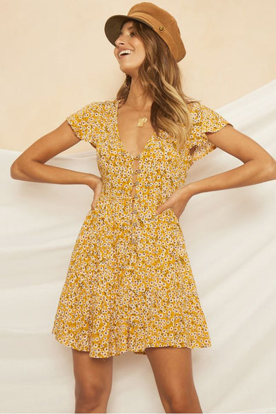 Floral On Board Dress