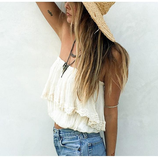 Frankie Off Shoulder Top