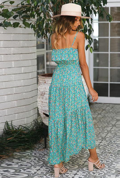 Freda Ruffled Maxi Dress