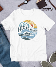 Load image into Gallery viewer, Good Vibes High Tides T-Shirt