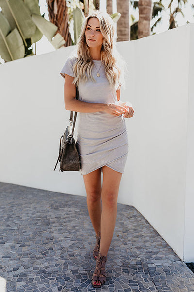 Colbie Ruched Shirt Dress