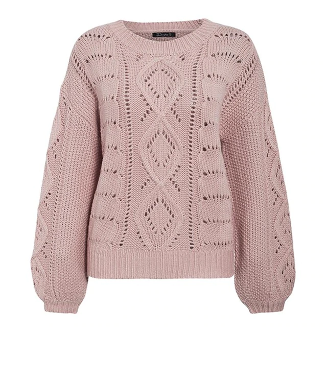 Ice Ice Baby Knit Sweater