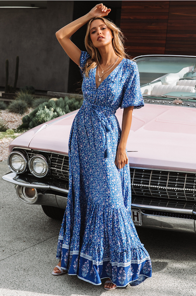 Katrin Boho Maxi Dress