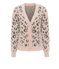 Load image into Gallery viewer, Lauryn Fuzzy Leopard Cardigan