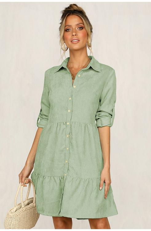 Louise Button Down Shirt Dress