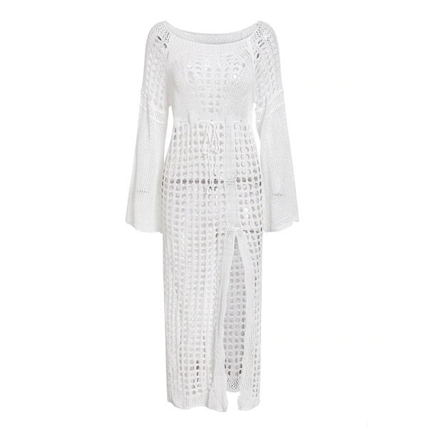 Margot Crochet Beach Dress
