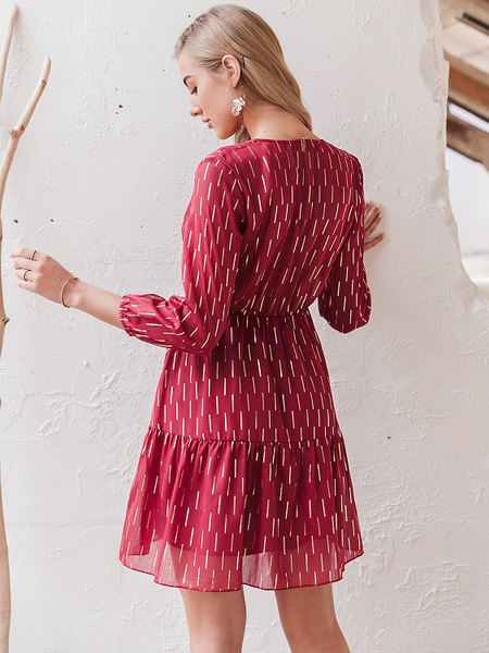 Fruitful Summer Shimmer Dress
