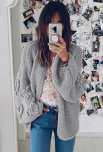 Load image into Gallery viewer, Nely Oversized Knitted Cardigan