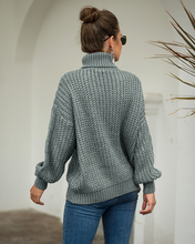 Load image into Gallery viewer, Nina Turtleneck Knit Sweater