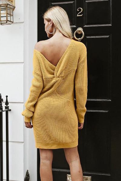 Mica Knitted Sweater Dress
