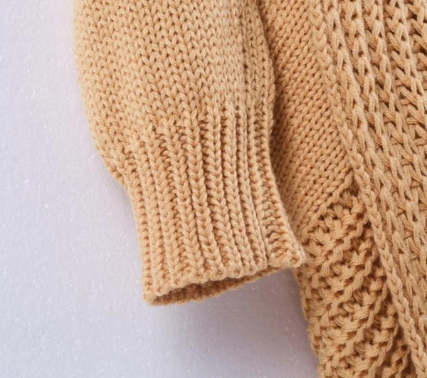 Jena Knitted Hi-Low Cardigan