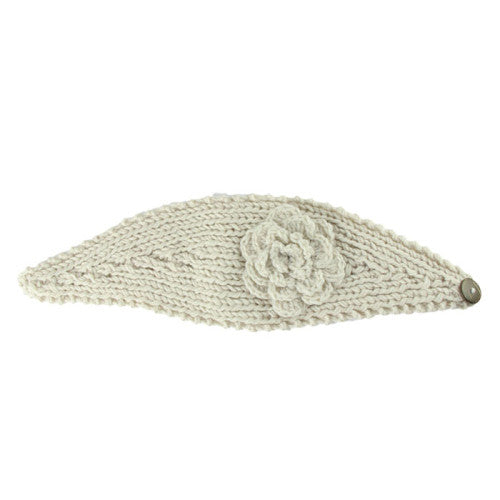 Dawn Flower Crochet Head Band [7 Variants]