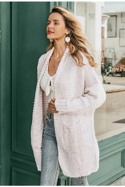 Tiffy Knitted Long Cardigan