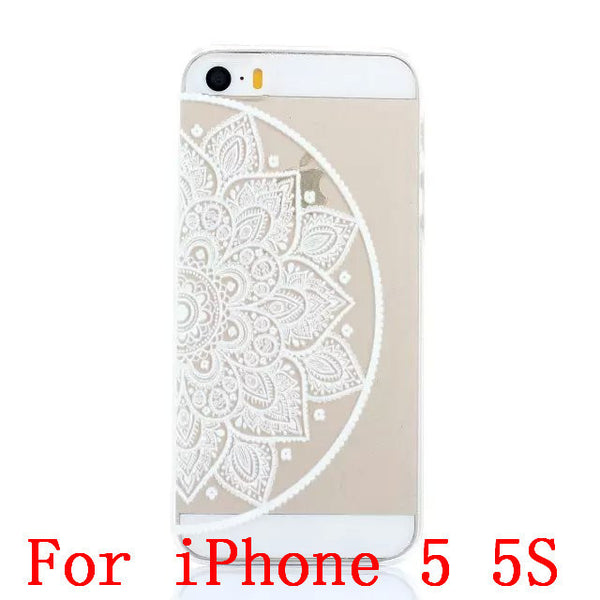 Henna Hard Case For iPhone 4/4s 5/5s
