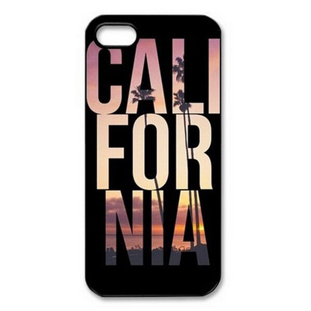 California iPhone Case, California Printed Design, iPhone Case, lovepeaceboho