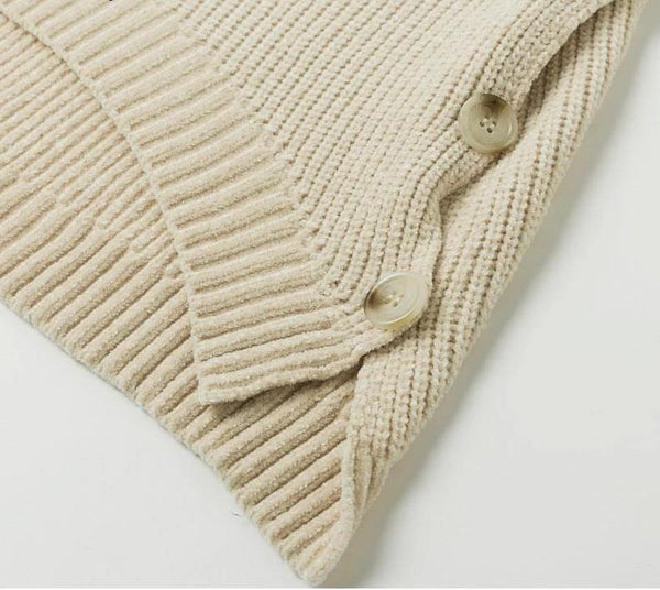 Sasey Hi Low Knitted Sweater