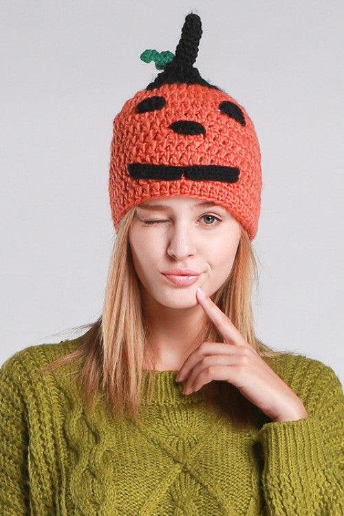 Cute Snow Carrot Beanie, Hat, Winter Hat, lovepeaceboho