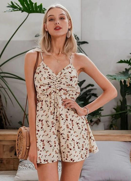 Tracy Floral Romper