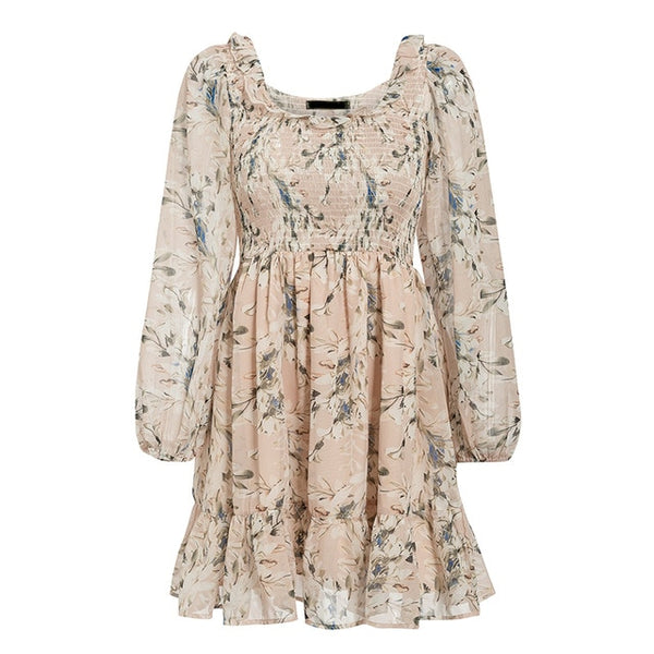 Youthful Blooms Shirred Dress