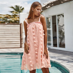 Mylla Floral Embroidery Dress