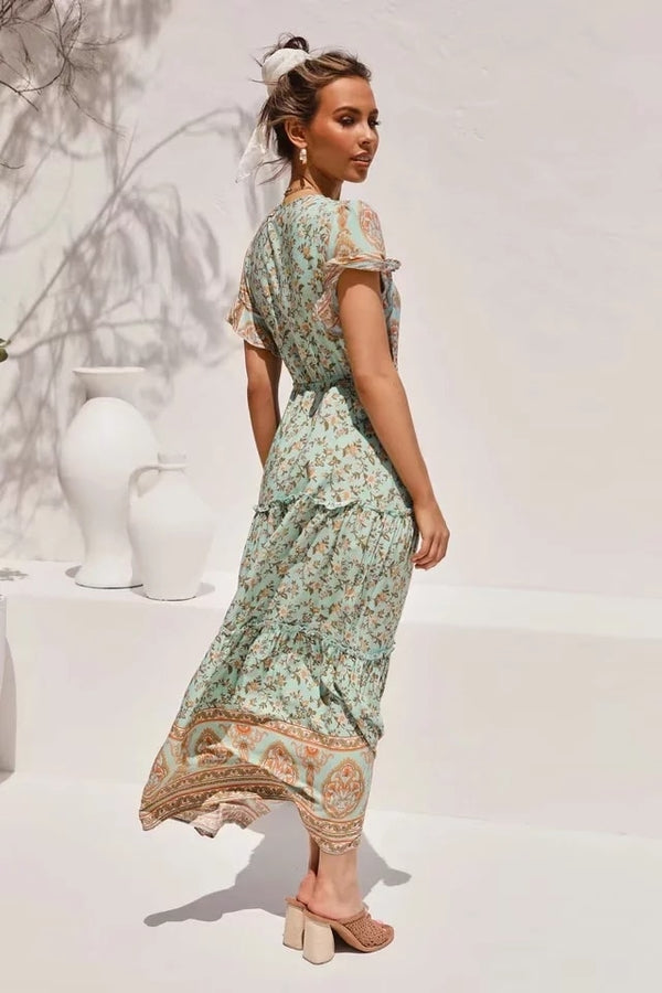 Litoya Floral Maxi Dress