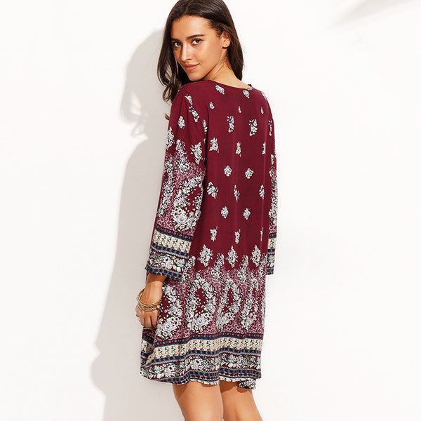 Rubi Paisley Print Dress