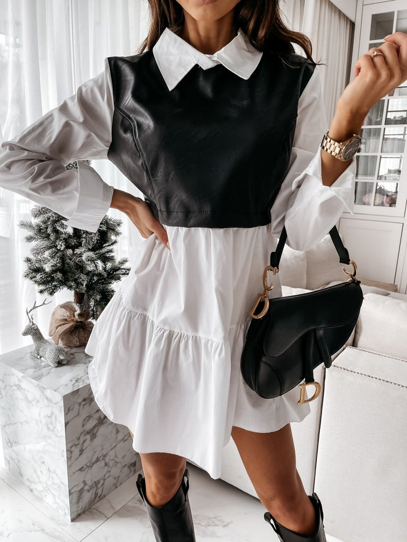 Charlise Vested Mini Dress