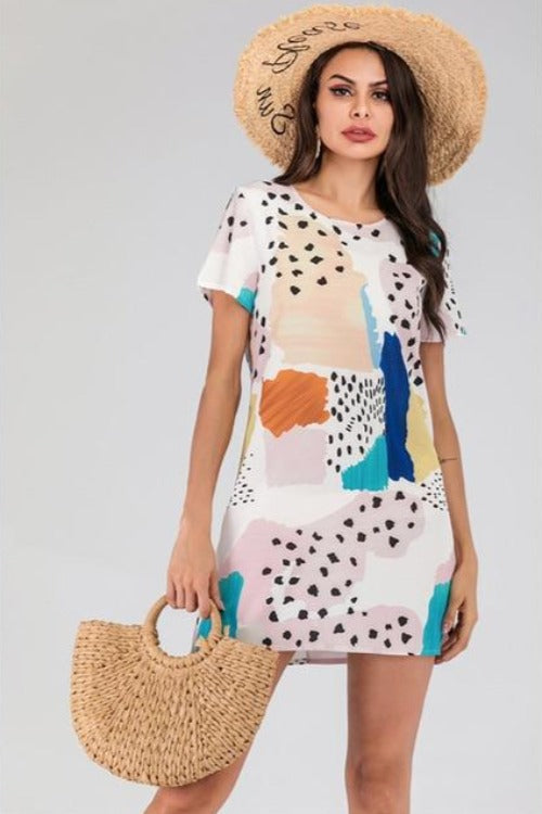 Kara Casual Printed Dress