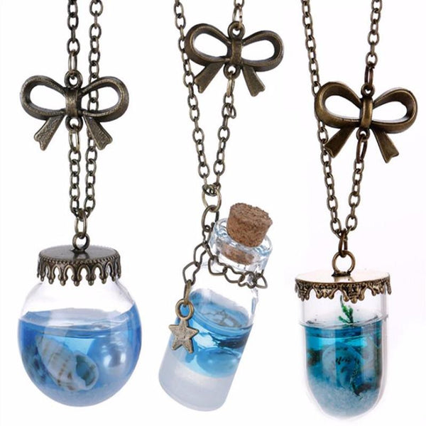 Underwater World Shell Necklace, Necklace, lovepeaceboho
