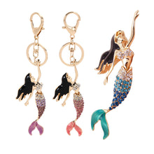 Load image into Gallery viewer, Mermaid Keychain, Keychain, lovepeaceboho