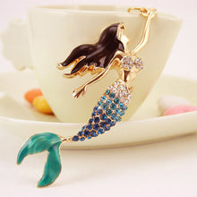 Load image into Gallery viewer, Mermaid Keychain