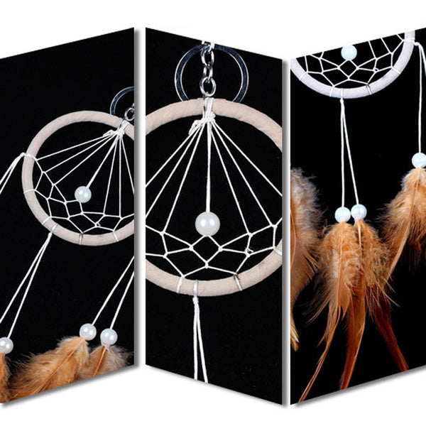 Coffee Dream Catcher Keychain