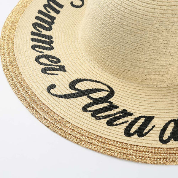 Summer Paradise Straw Hat