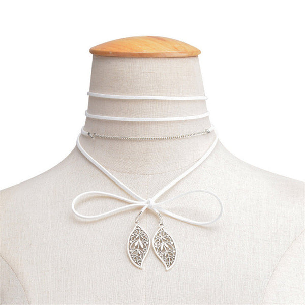 Leaf  Wrap Necklace