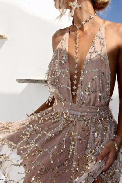 Amelia Sequin Dress