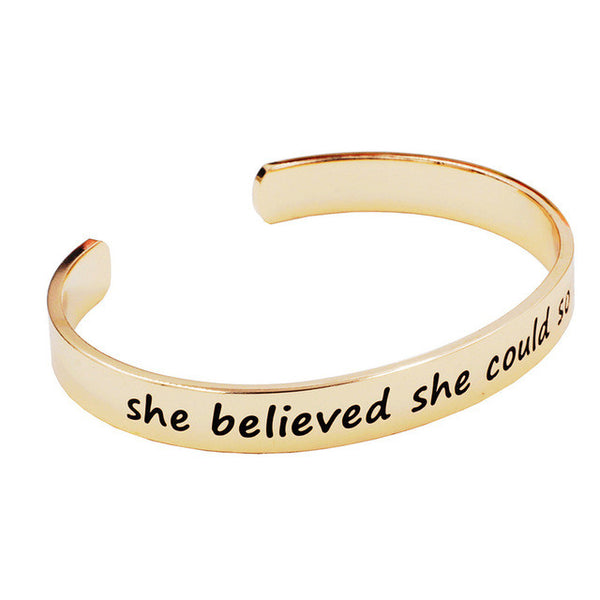 Statement Open-Cuff Bangle