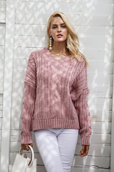 Kristine Knitted Pullover Sweater