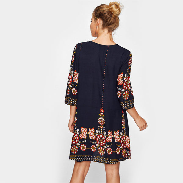 Marina Floral Mini Dress