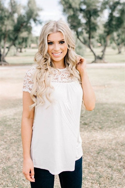 Dayna Lace Blouse