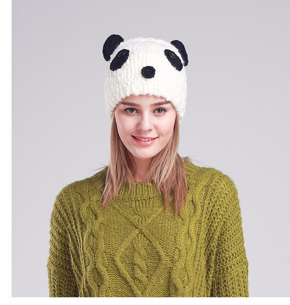 Cute Panda Novelty Beanie