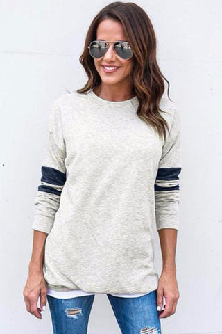 Bunni Striped Crew Neck Sweater
