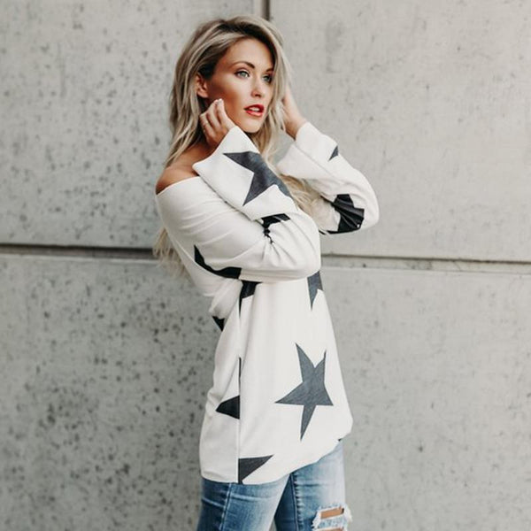 Milli Stars One Shoulder Top