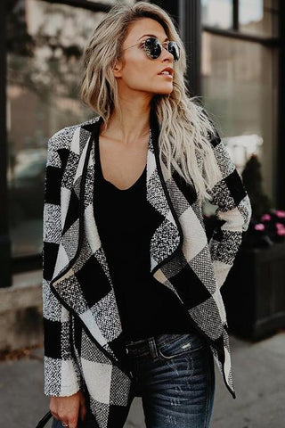 Nicola Plaid Jacket